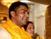 VRINDAVAN, Prem Mandir: Baba Ramdev Ji visited Prem Mandir yesterday evening.